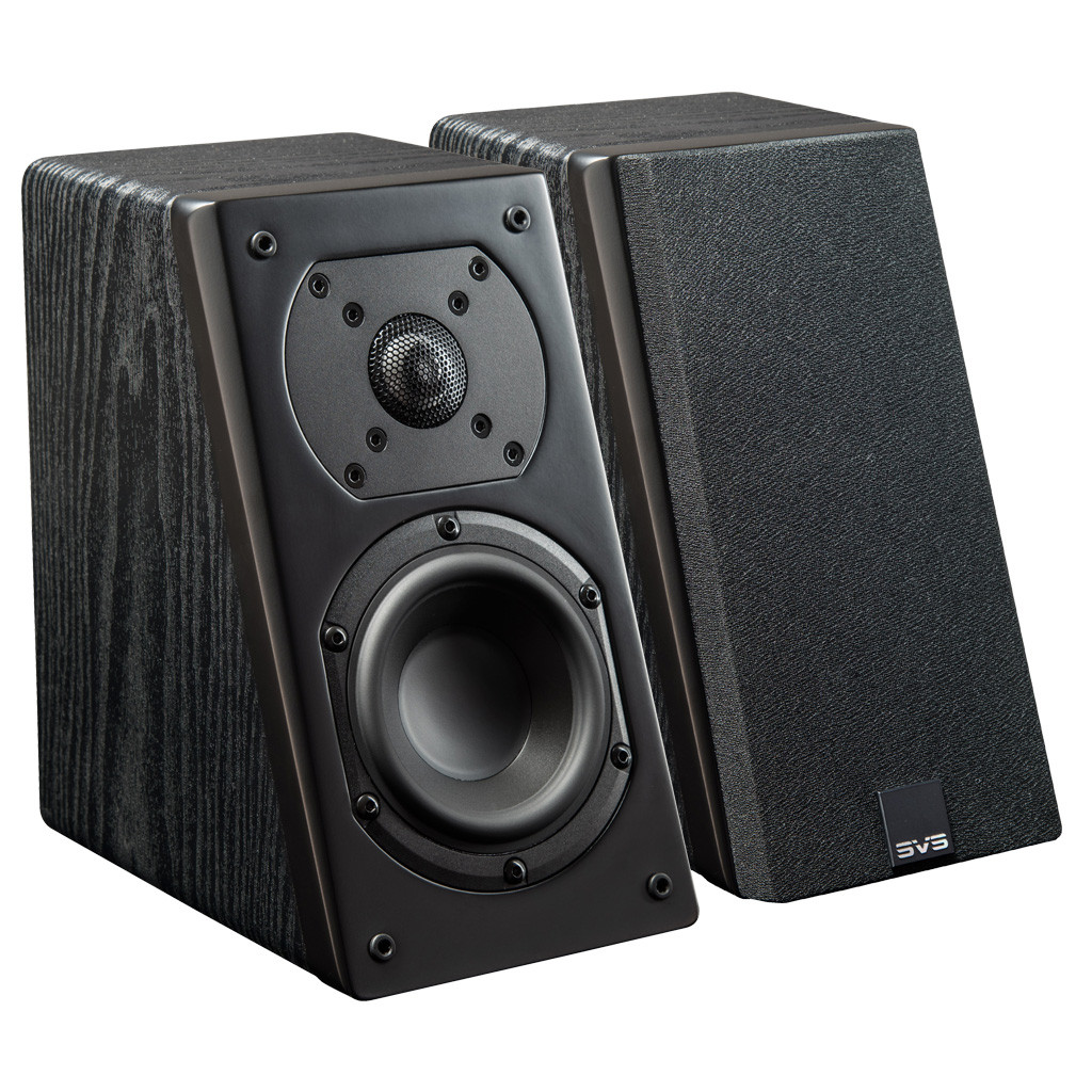 SVS Prime Elevation Speakers Black Ash Pair