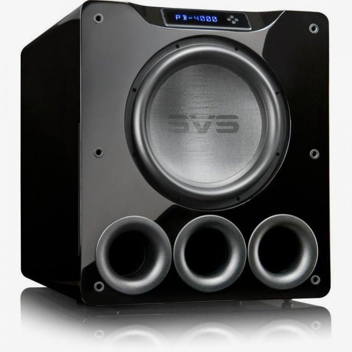 "SVS PB-4000 13.5"" 1200W Subwoofer PIANO GLOSS BLACK"