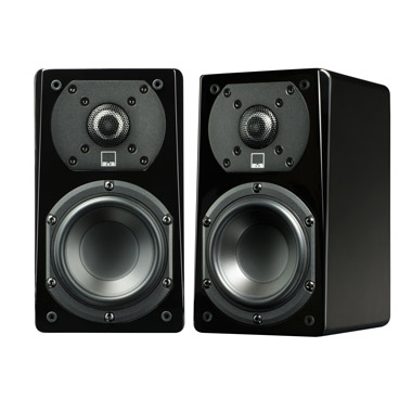 SVS Prime Satellite Speakers Black Ash Pair
